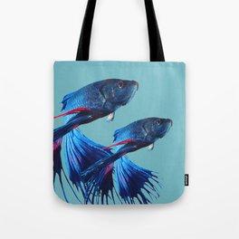 Betta Fish Tote Bag