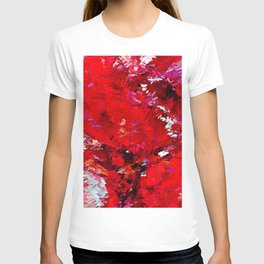 Red Rocks Abstract T-shirt