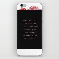 everymorning iPhone & iPod Skin