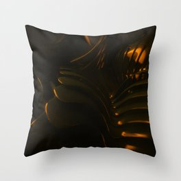 King Dark CatFish - The Chain Throw Pillow