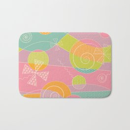 Abstract Pattern - Candyland Bath Mat