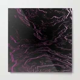 Abstrac liquid Metal Print