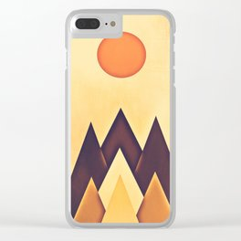 mountain 115 Clear iPhone Case