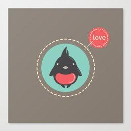 Love Bird Canvas Print