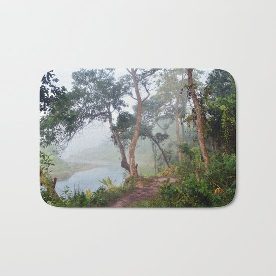 Jungle in Royal Chitwan National Park, Nepal. Bath Mat