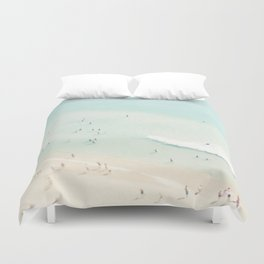 beach summer fun Duvet Cover