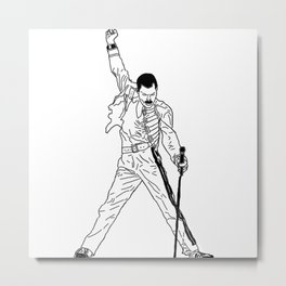 Don't Stop Me Now Metal Print