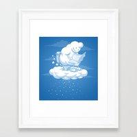 snowflake Framed Art Prints featuring Snowflake by Murat Özkan