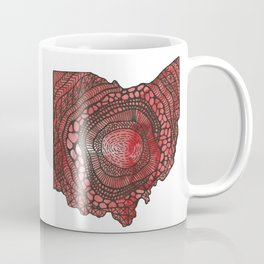 Ohio Red Coffee Mug