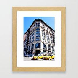 SoHo New York City Street Framed Art Print
