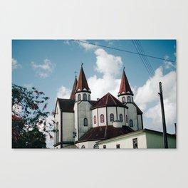 Iglesia del Sagrado Corazon Canvas Print