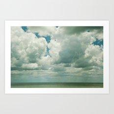 Big Sky Art Print
