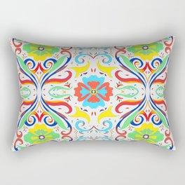 Ornamental Flourish Rectangular Pillow