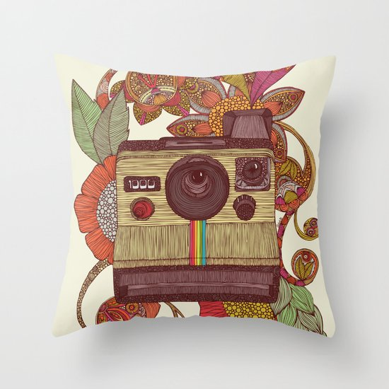 Out of sight! Throw Pillow