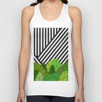 bianca green Tank Tops featuring Green Direction by Bianca Green