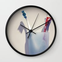 lonely Wall Clocks featuring lonely... by Chernobylbob