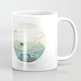Bubble-map #01 Kalt Coffee Mug