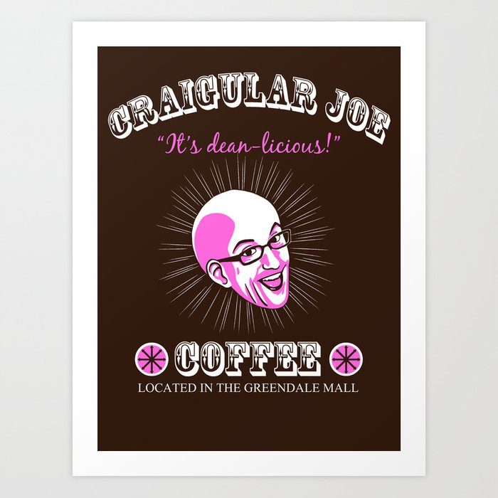 Craigular Joe Art Print