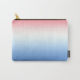 Red and Blue Carry-All Pouch