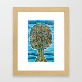 Tree and Birds Framed Art Print