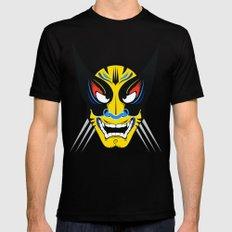 Kabuki Wolverine MEDIUM Black Mens Fitted Tee
