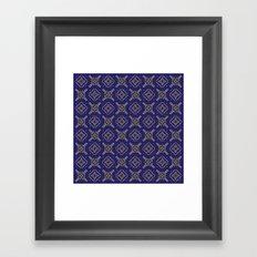 Royal [abstract pattern B] Framed Art Print