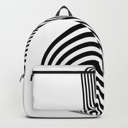 Standing up Backpack