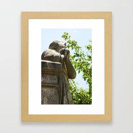 Looking Skyward 2 Framed Art Print