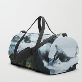 Whales dreamscape Duffle Bag
