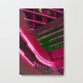 NEON XING Metal Print
