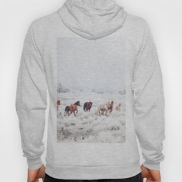 Winter Horses Hoody