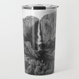 YOSEMITE- WATERFALL - NATURE - LANDSCAPE - art Travel Mug