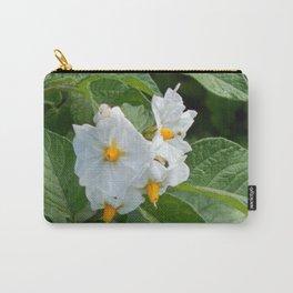Potato Plant Flowers Carry-All Pouch