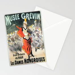 Vintage poster - Musee Grevin Stationery Cards