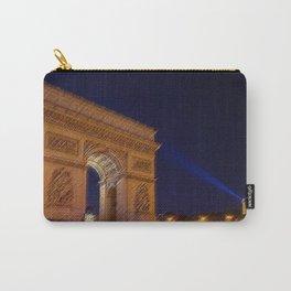 Arc De Triomphe, Paris, A Landscape by Jeanpaul Ferro Carry-All Pouch