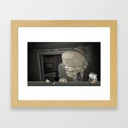 Mr. Sampaio Framed Art Print