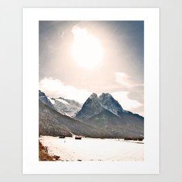Majestic Boulder Art Print