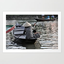 Life on the River Art Print