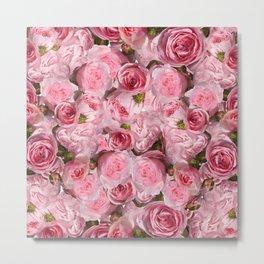 Carpet of flowers 4. roses Metal Print