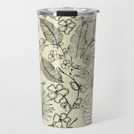 Tropical doodle Travel Mug