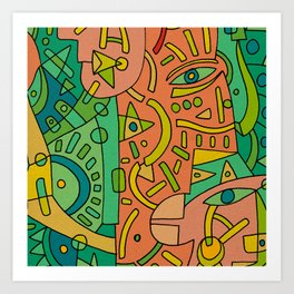 - 2 directions - Art Print