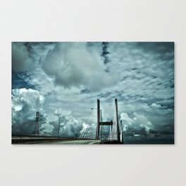 Suspension in Mobile Canvas Print