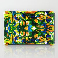 mask iPad Cases featuring Mask by András Récze