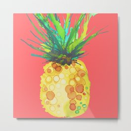 Pineapple Mango Daiquiri Metal Print
