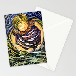 Practicing the Seven Veils  Stationery Cards