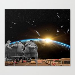 The View From Here Canvas Print