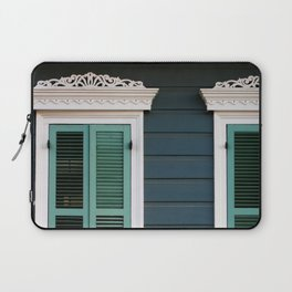 New Orleans Creole Cottage Laptop Sleeve
