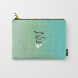 Wendell the Narwhal Carry-All Pouch