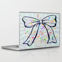 bow Laptop & iPad Skins featuring Bow by T. Tamaiiya