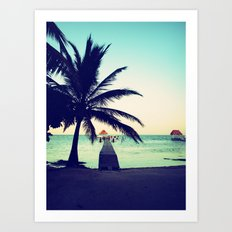 Road to paradise Art Print